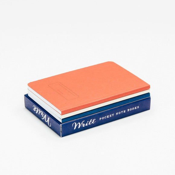 Write Notepads & Co - Pocket Notebooks Set of 3