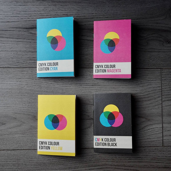 Back Pocket - CMYK Colour Edition Notebooks