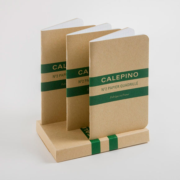 Calepino - No. 2 Notebook Graph Set of 3