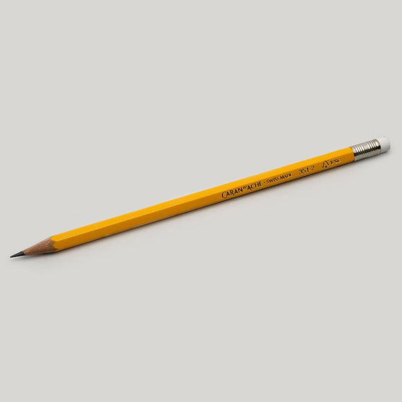 Caran D'ache Yellow School Pencil