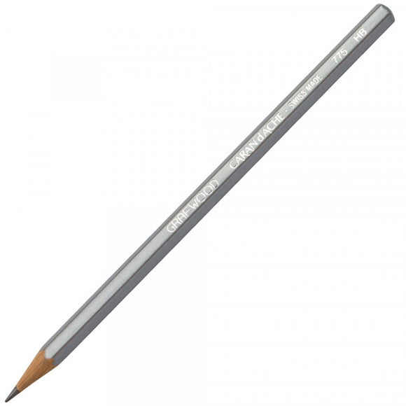 Caran D'ache Grafwood Pencil HB - 3 Pack