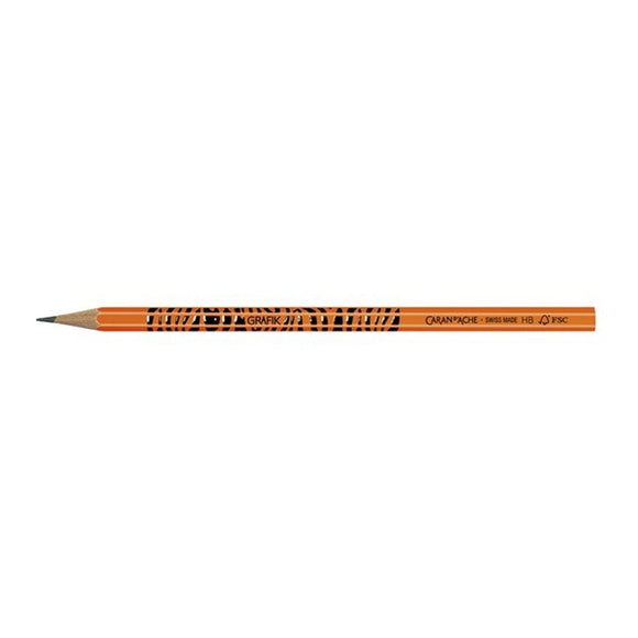Caran D'ache Grafik Fluo Orange  Pencil