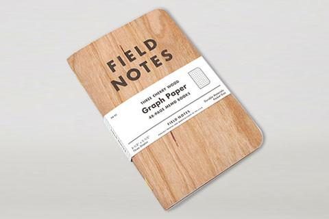 Field Notes - Cherry Wood Set of 3