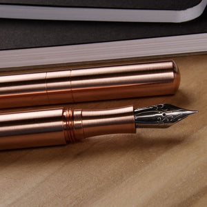 Schon DSGN - Pocket Six FP - Copper with Copper Section M Nib