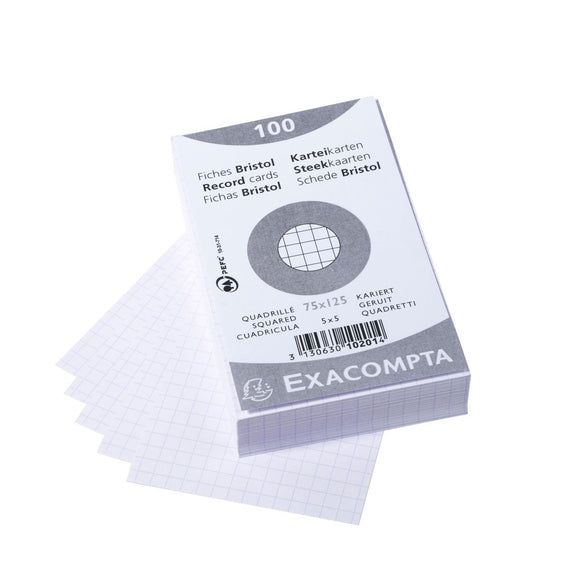 Exacompta Record Cards - Graph