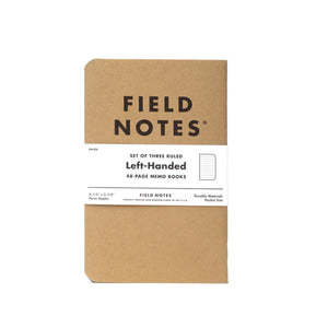 Field Notes - Left Handed Memo
