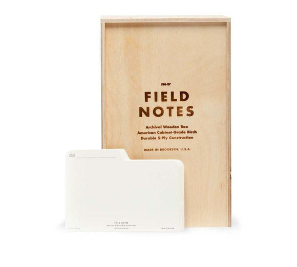 Field Notes Archival Box