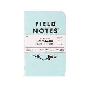 Field Notes Tested Flight Log 3-Pack