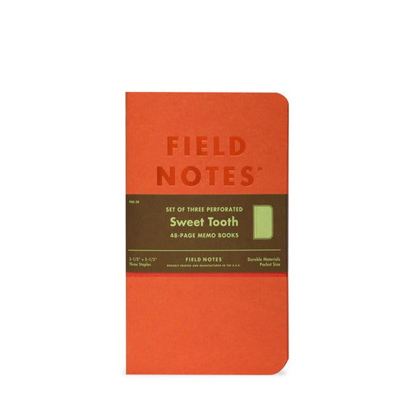 Field Notes - Sweet Tooth Edition Set of 3