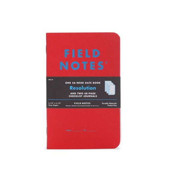 Field Notes Resolution - Winter Limited Edition