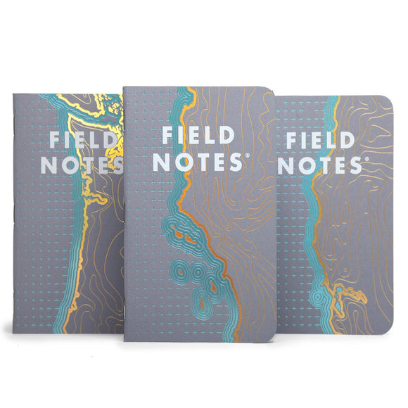 Field Notes - Spring 2018 Limited Edition - Coastal West