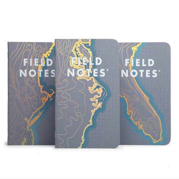 Field Notes - Spring 2018 Limited Edition - Costal East