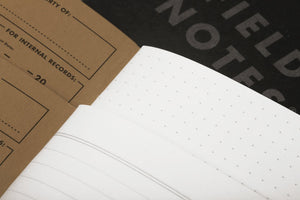 Field Notes - Pitch Black Set of 3