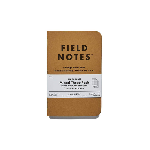 Field Notes - Mixed Set of 3