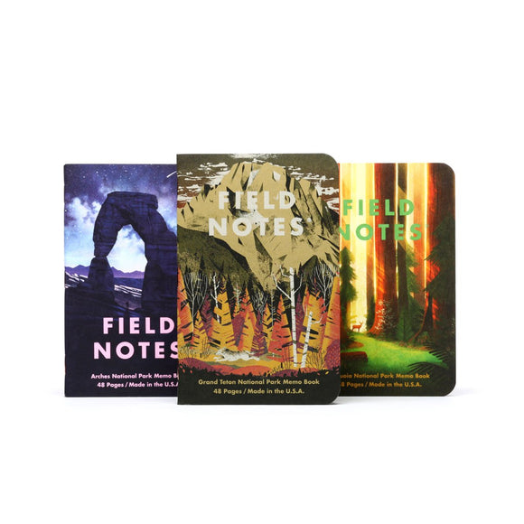 Field Notes - National Parks - Pack D