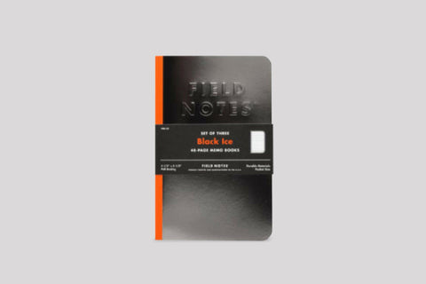 Field Notes - Black Ice Set of 3