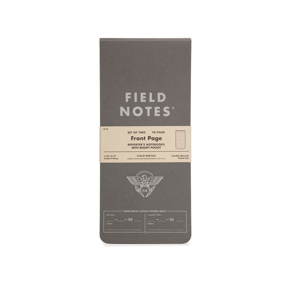Field Notes - Frontpage Set of 2
