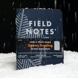 Field Notes - Snowy Evening - Winter 2020