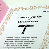 Field Notes - United States of Letterpress - Pack A