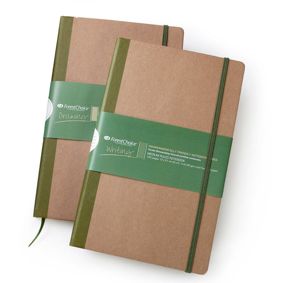 Forest Choice Medium Hardbound Notebook