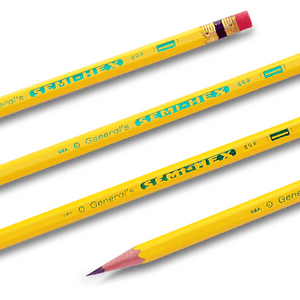 General's Semi Hex Pencils - pack of 12