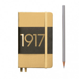 Leuchtturm 1917 Hardback Metallic A6 Notebook