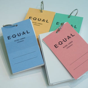 Life Word Card - Equal A7