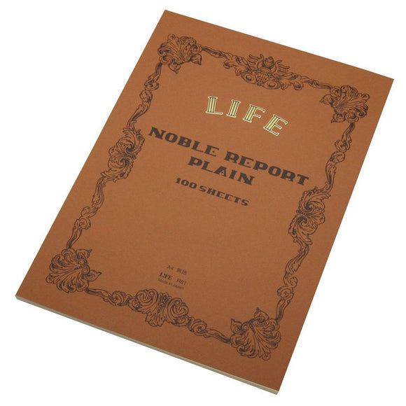 Life Noble A4 - Report Pad Plain