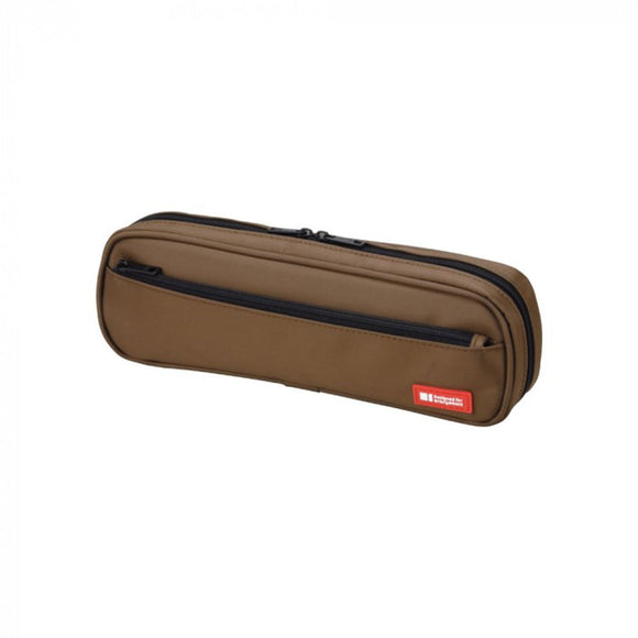 Lihit Lab - 2 Way Pen Case - Brown