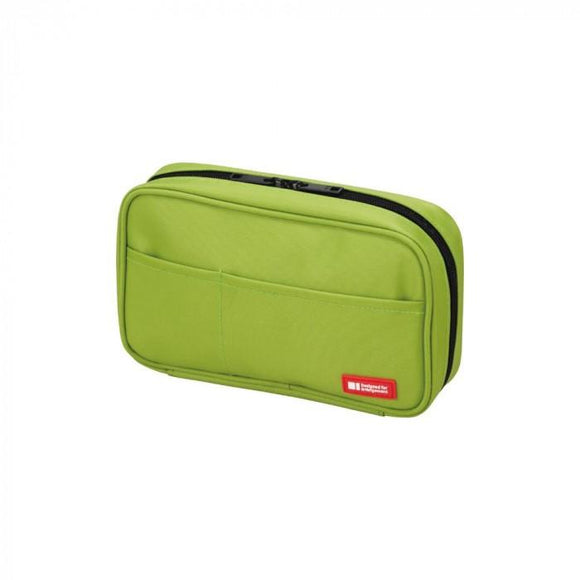 Lihit Lab - Book Style Pen Case - Green