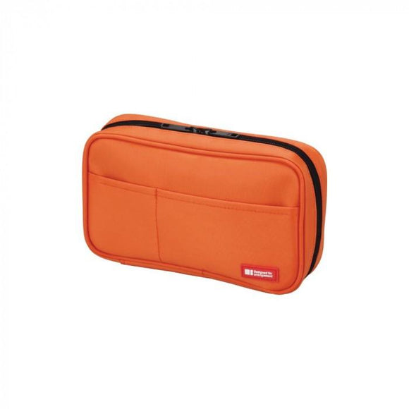 Lihit Lab - Book Style Pen Case - Orange