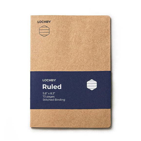 Lochby Field Journal Refill - Ruled