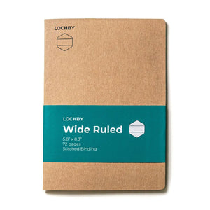 Lochby Field Journal Refill - Wide Ruled