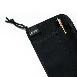 Lochby - Pocket Journal Black