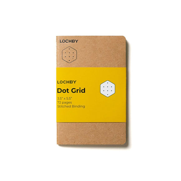 Lochby Pocket Journal Refill - Dot