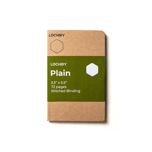 Lochby Pocket Journal Refill - Plain