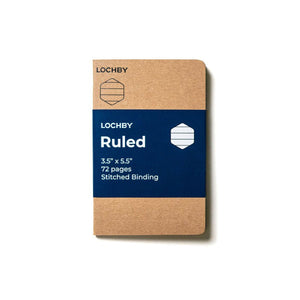 Lochby Pocket Journal Refill - Ruled