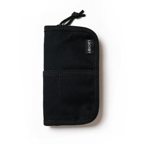 Lochby Quattro Pen Case - Black