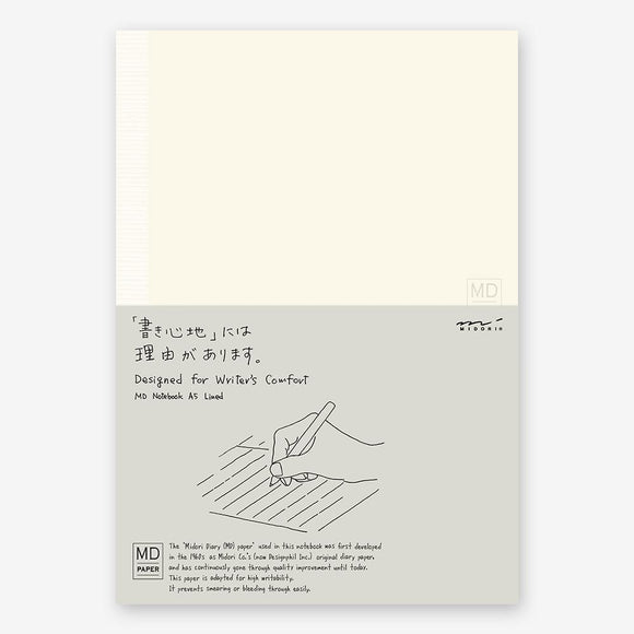 Midori MD A5 Lined Notebook