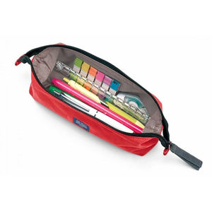 Midori Medium Canvas Pencil Case - Red