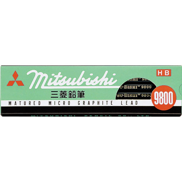 Mitsubishi 9800 Pencil - 12 Pack