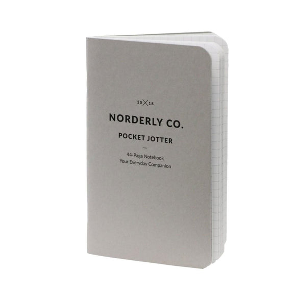 Norderly Co -  2 pack of Pocket Notebooks Graph