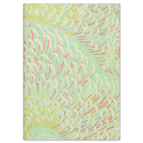 ESMIE Paperback Notebook Mint Chrysanthemum