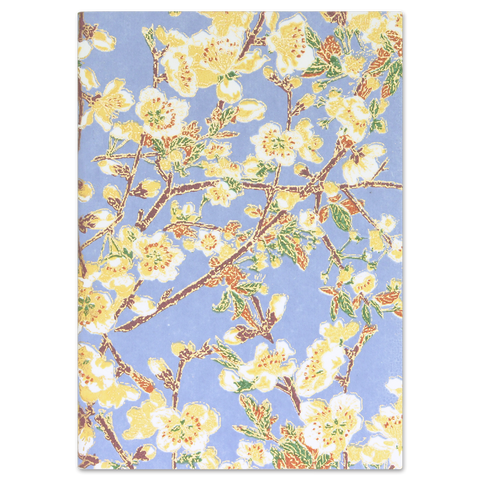 ESMIE Paperback Notebook Yellow Buds/Blue
