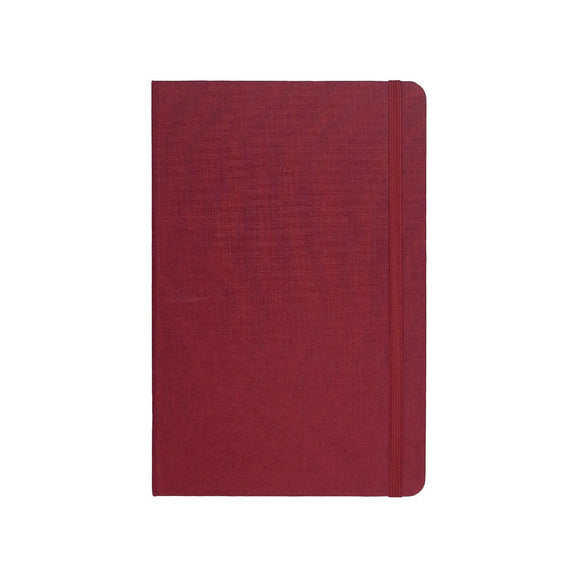 Port West - A5 Notebook Burgundy Dot