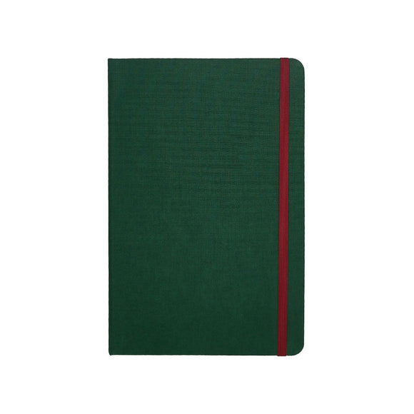 Port West - A5 Notebook Green Lined