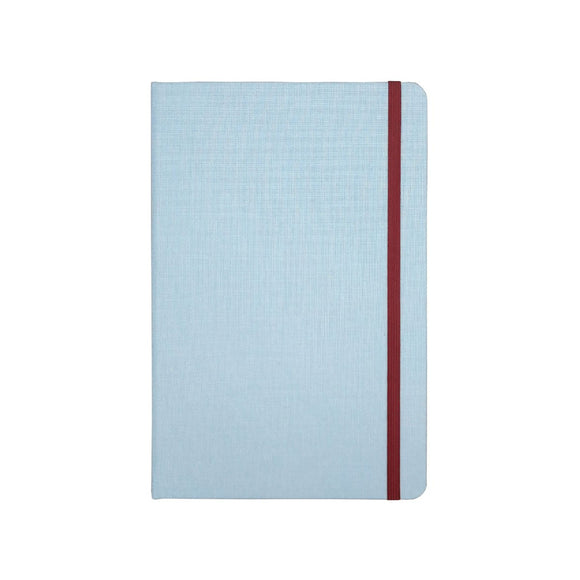 Port West - A5 Notebook Light Blue Dot