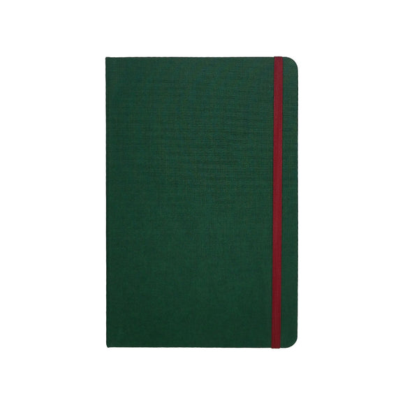 Port West - A5 Notebook Green Dot