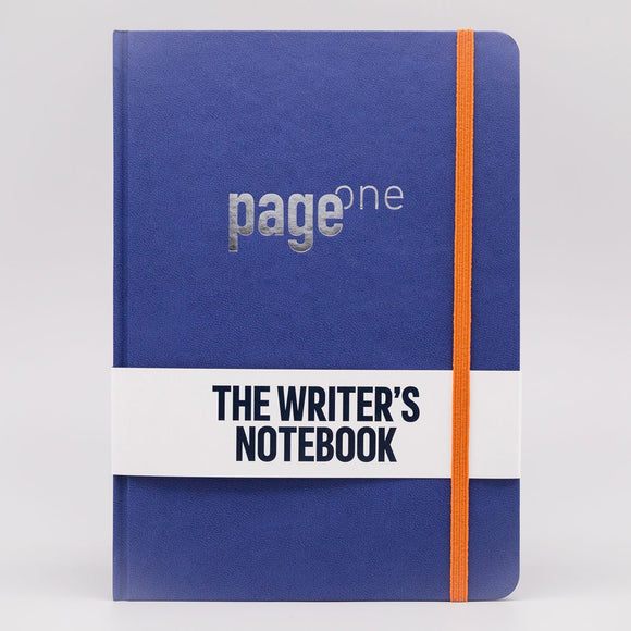 Write Gear - Page One Writers Notebook - Deep Blue