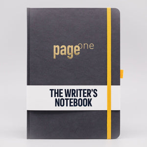 Write Gear - Page One Writers Notebook - Subtle Black